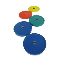 Discos halterofilia colores