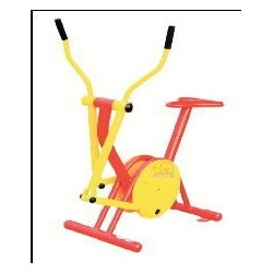 Bicicleta y eliptica
