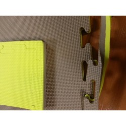 Suelo tatami de 2 cmts. Color amarillo/marron