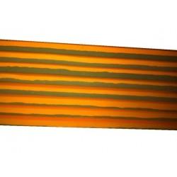 Suelo tatami de 2 cmts. Color naranja/marron