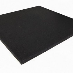 Suelo caucho loseta de 1000 x 1000 x 25 y 40 mm