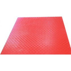 Suelo tatami puzzle 15mm. (color Rojo)