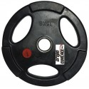 Discos de caucho diámetro para barra 50 mm. con agarre de mano