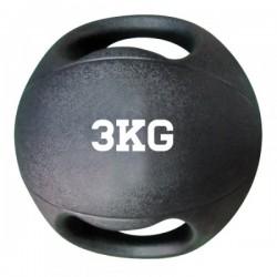 Balón medicinal con asas, 3 kg.
