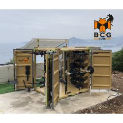 Box Cube Gym (3 puertas), Mod. SUPERGYM