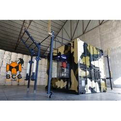 Box Cube Gym (1 puertas), Mod. NITRO