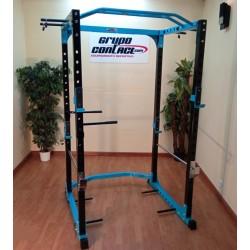 Jaula rack sentadillas con fondos pecho Mod. OK9180