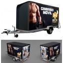 """Box-Cube-Gym """"Remolque"""" Gimnasio en remolque"""